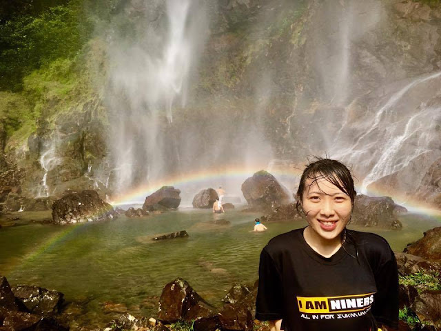 Sungai Lembing rainbow waterfall