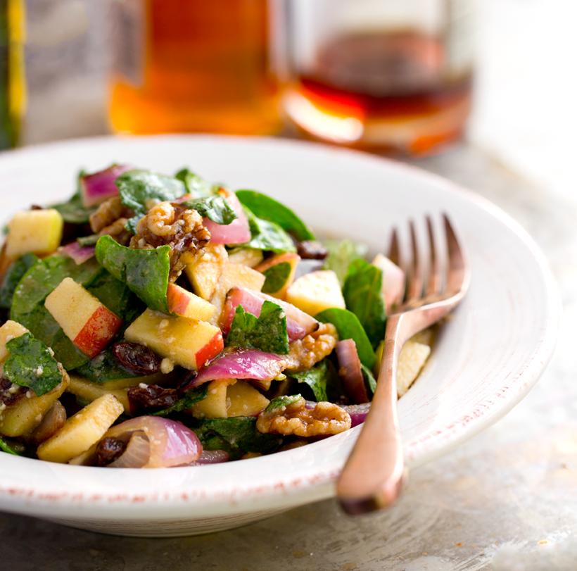 Fall Flavor in a Flash! Salad