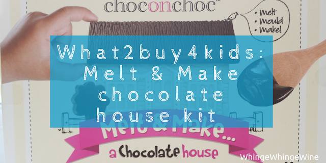 Melt & Make chocolate house kit from What2buy4kids review