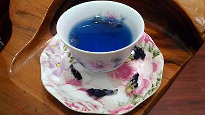 《育聖園地》蝶豆花療癒藍包子作法