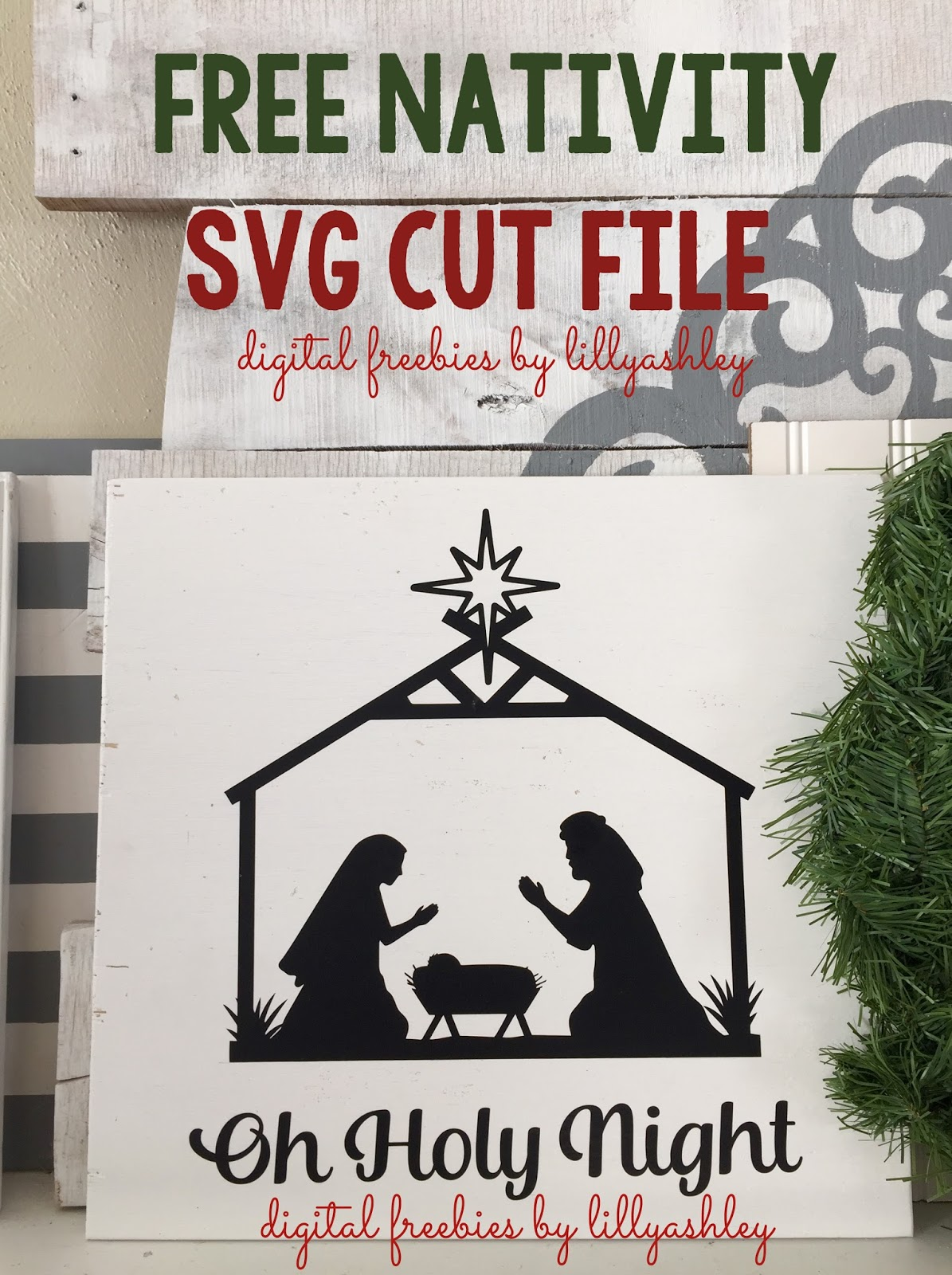 Make It Create Free Cut Files And Printables Free Nativity Svg Cut File