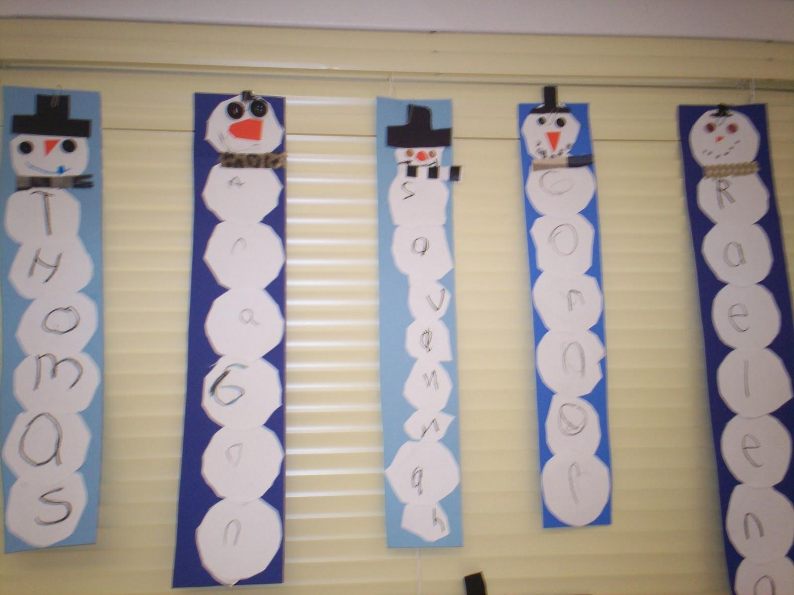 Kindergarten Days Winter Wonderland