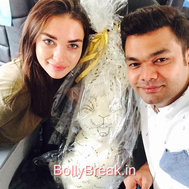 , Singh is Bling Actress Amy Jackson Hot Pics from Sets