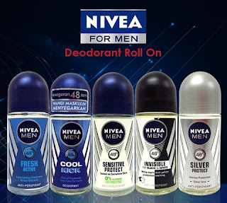 nivea men roll on