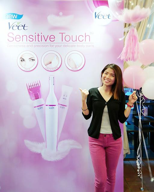 Veet Sensitive Touch Workshop 2017 | missy forward beauty