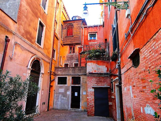 Benátky, ghetto, zákoutí