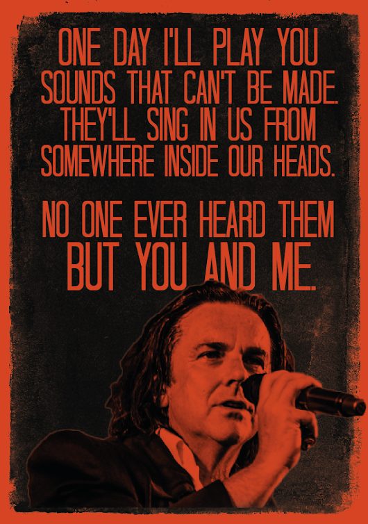 Lyrics Posters for Marillion | Ellie W Media