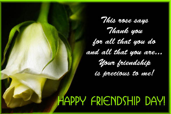 Happy Friendship Day 2016 Sms