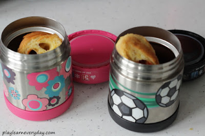 croissants in thermos flasks