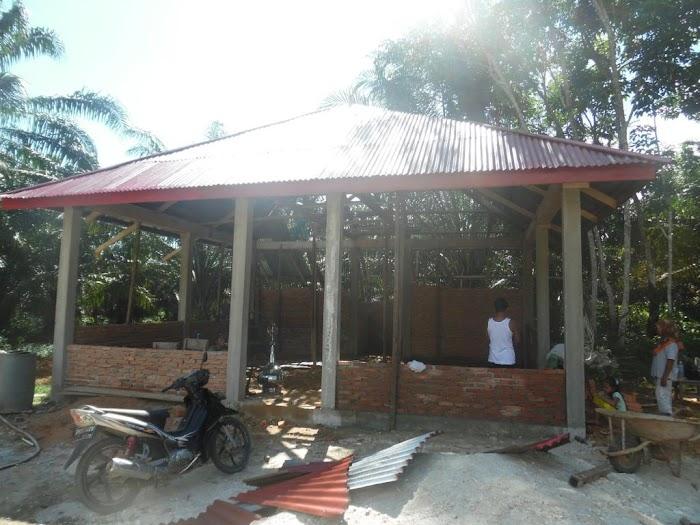 Pembangunan Masjid Nurul Jannah