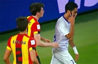 هل غادر حسين الشحات التدريب مصابا ، ولن يشارك في مباراة العين أمام ريفيربليت في نصف نهائي المونديال