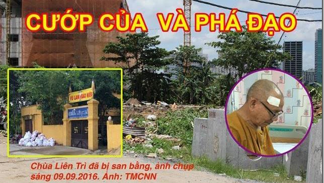 Image result for vc phá chùa
