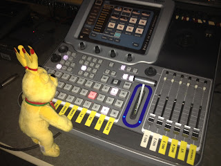 Pom Bear at the Directors Desk