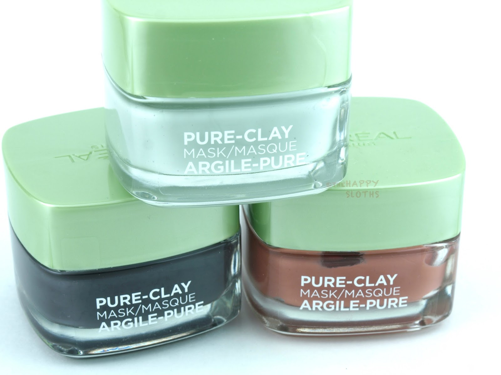 L'Oreal Pure-Clay Masks: Review