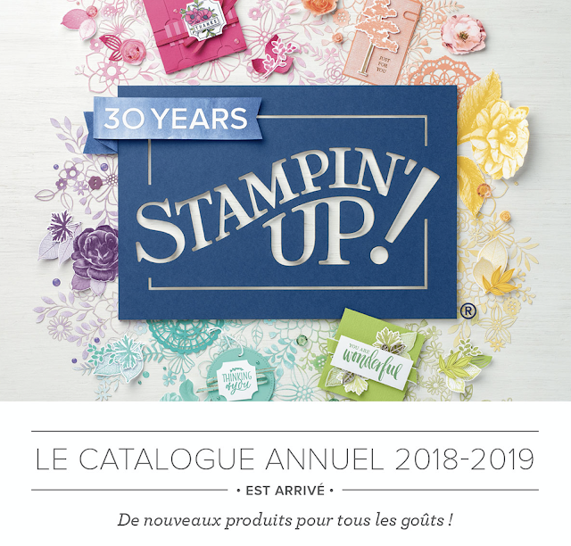 catalogue Stampin' up! couverture 2018-2019