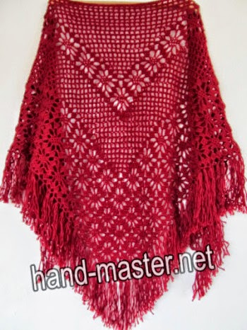Chal triangular crochet