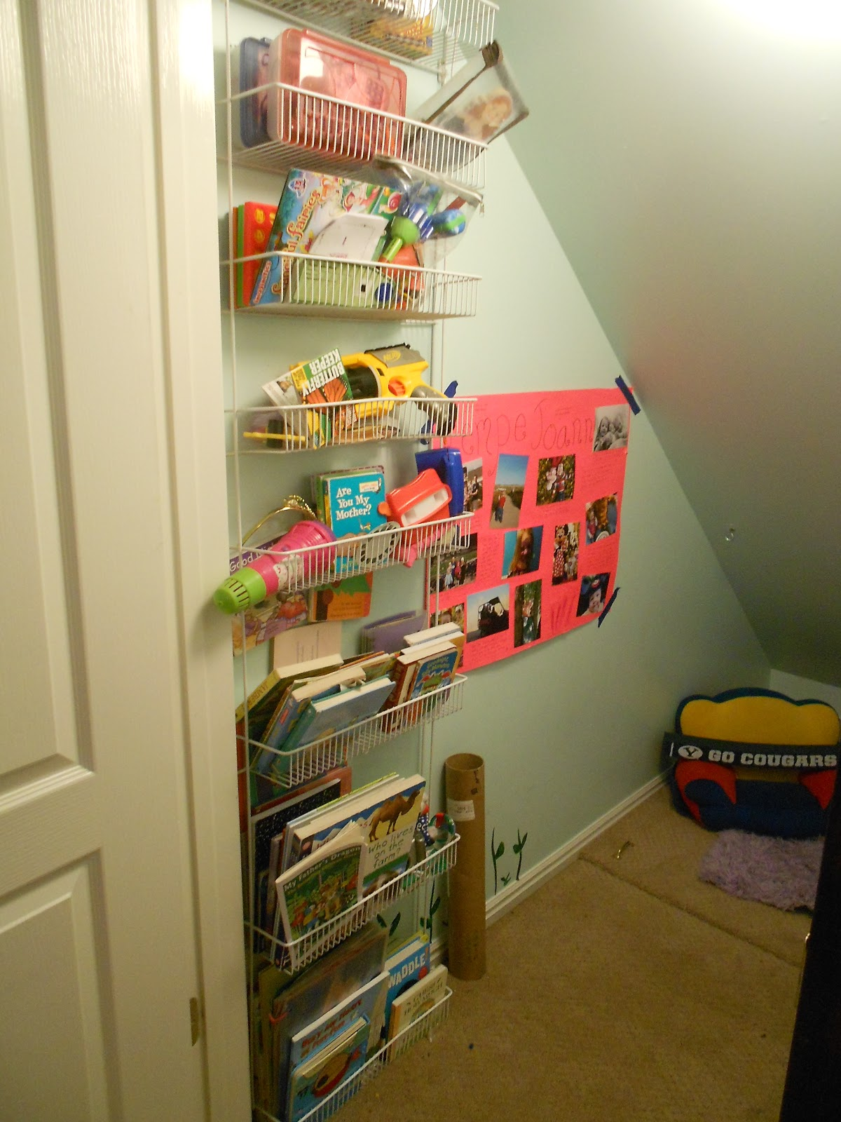 10 Types Of Toy Organizers For Kids Bedrooms And Playrooms: My Kids Eat Off The Floor: Flashback: Closet Playroom