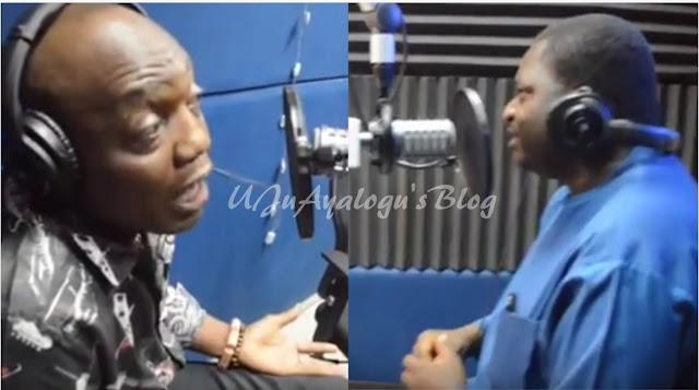 Dede Mabiaku abandons interview after Femi Adesina asks him to shut up