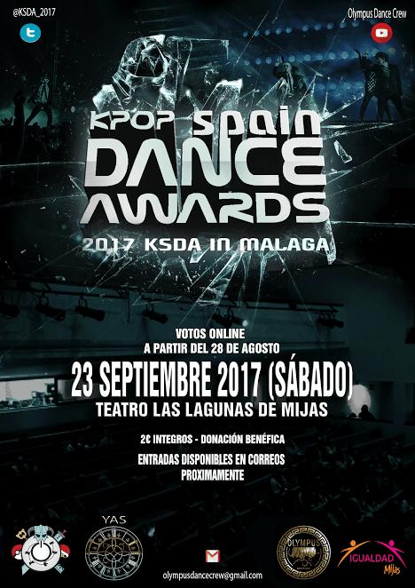 Kpop Spain Dance Awards 2017