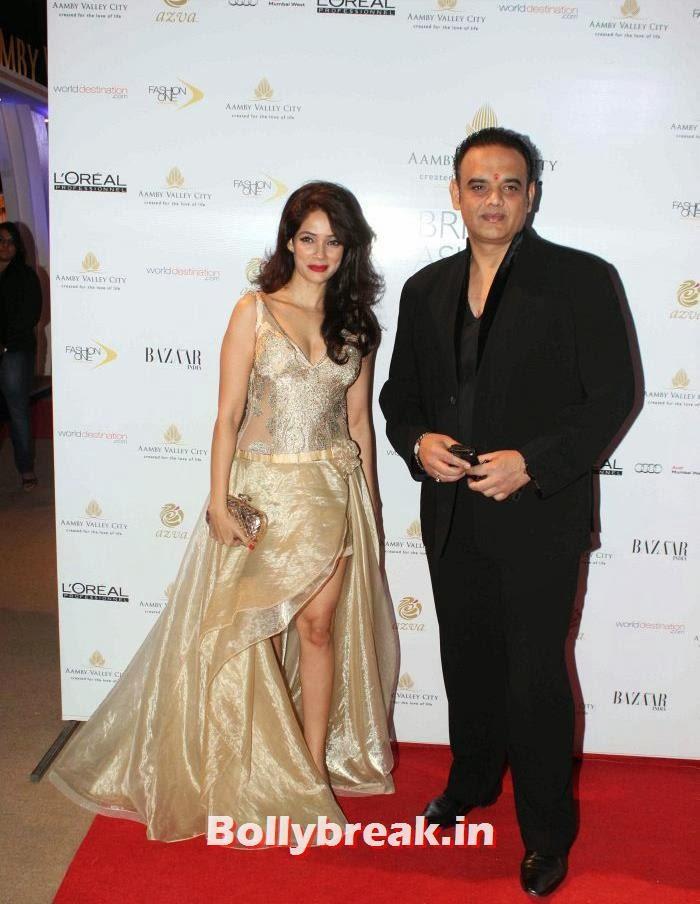 Vidya Malvade, Hot Celebs at India Bridal Fashion Week 2013