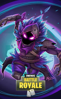 Fortnite Battle Royale Raven (le Corbeau) - Fond d'Écran en QHD pour Mobile