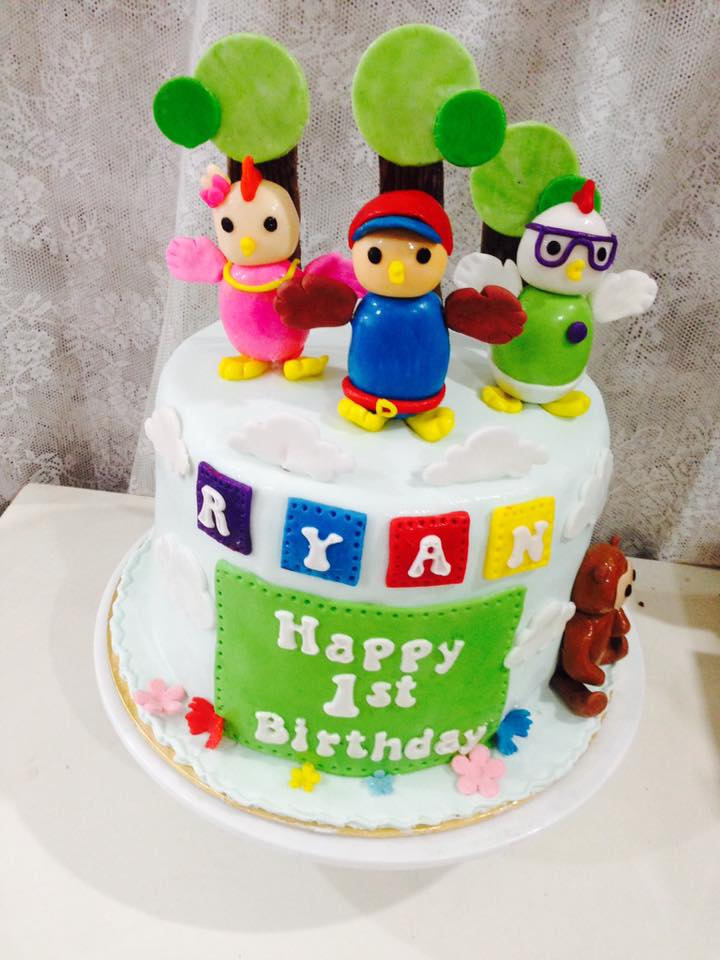 Cake Images For Didi : ninie cakes house: Didi And Friends Cake