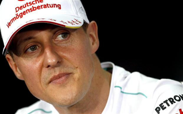 """Morte de Michael Schumacher """"É uma questão de horas"""", diz médico"""