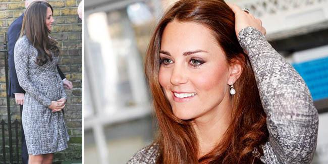 Kate Middleton Makin Cantik Saat Hamil