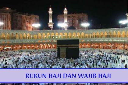 Rukun Haji & Wajib Haji (Penjelasan dan Perbedaan)