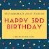 Happy 3rd Birthday Muhammad Arif Hakim