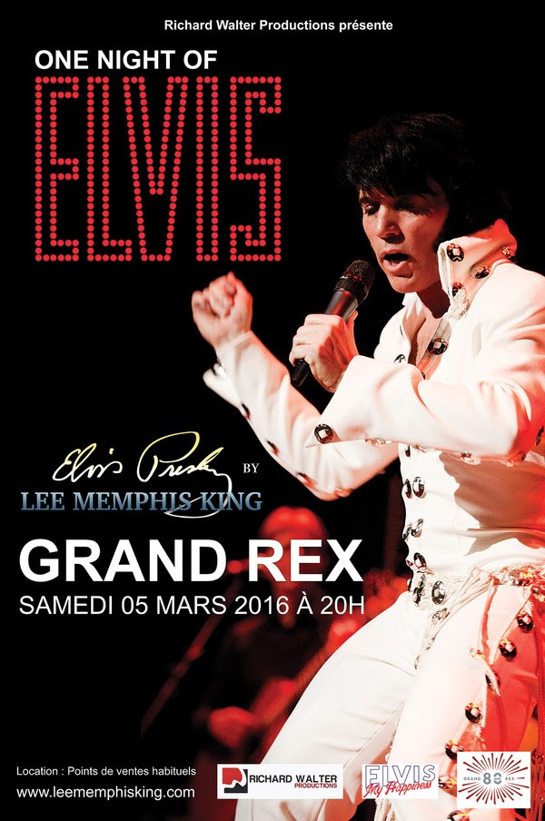 One Night of Elvis au Grand Rex à Paris
