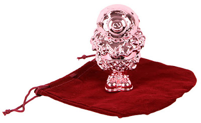 "Pink Chrome Mister Melty 5"" Figure by Buff Monster"