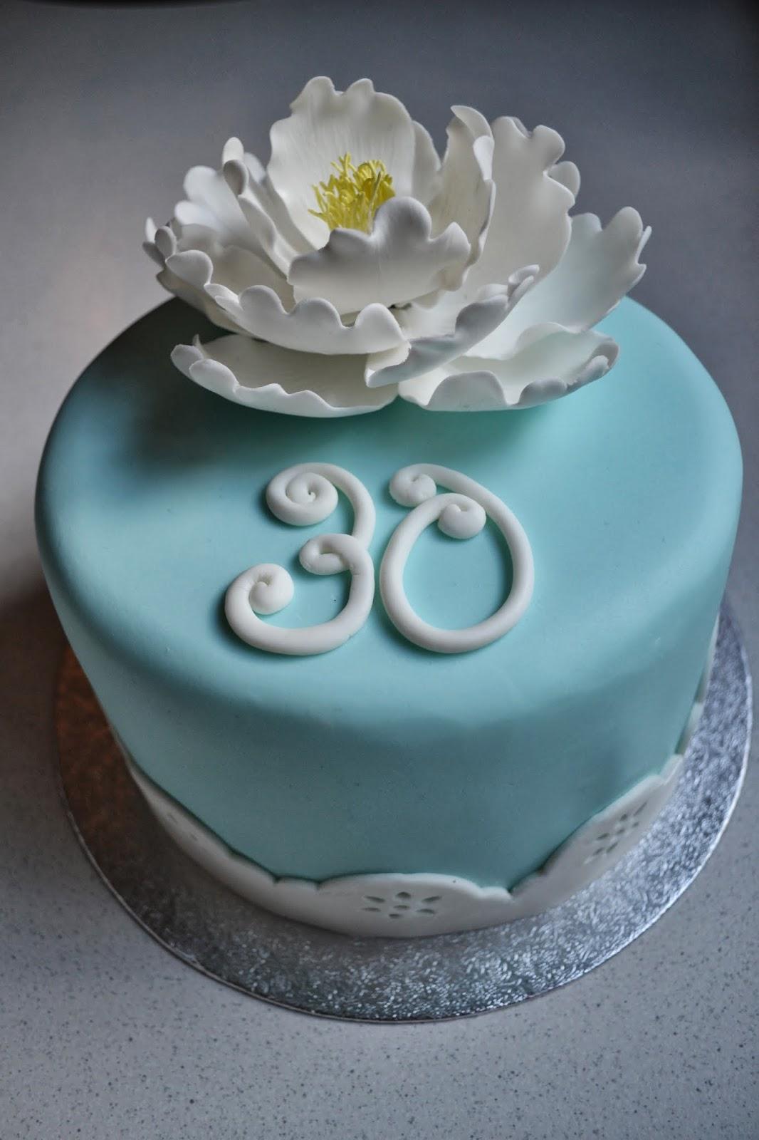 30 születésnapi torták Városi lány: Egyszerű torta 30. születésnapra 30 születésnapi torták