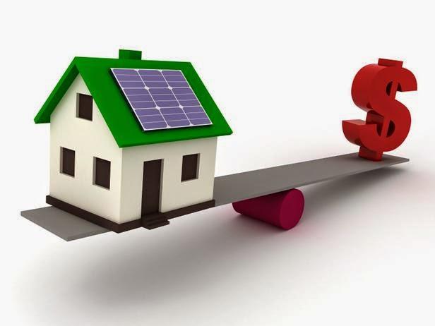 تكلفة الطاقة الشمسية للمنازل