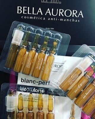 Ampollas Anti-Manchas de Bella Aurora. B-CORE 221 TM. TECHNOLOGY. B 10 FORTE