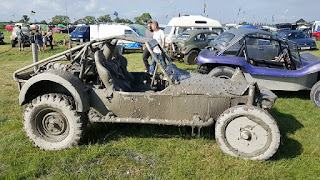 Off road track for buggies and bajas at Bristol Volksfest