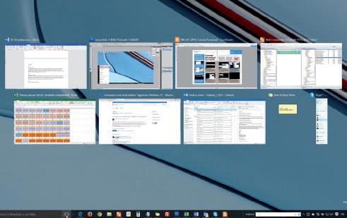 Come visualizzare le attività barra applicazioni windows 10
