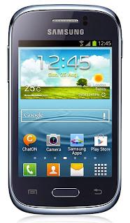 Spesifikasi dan Harga Samsung Galaxy Young GT-S6310 Terbaru