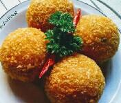Resep kroket kentang isi telur puyuh