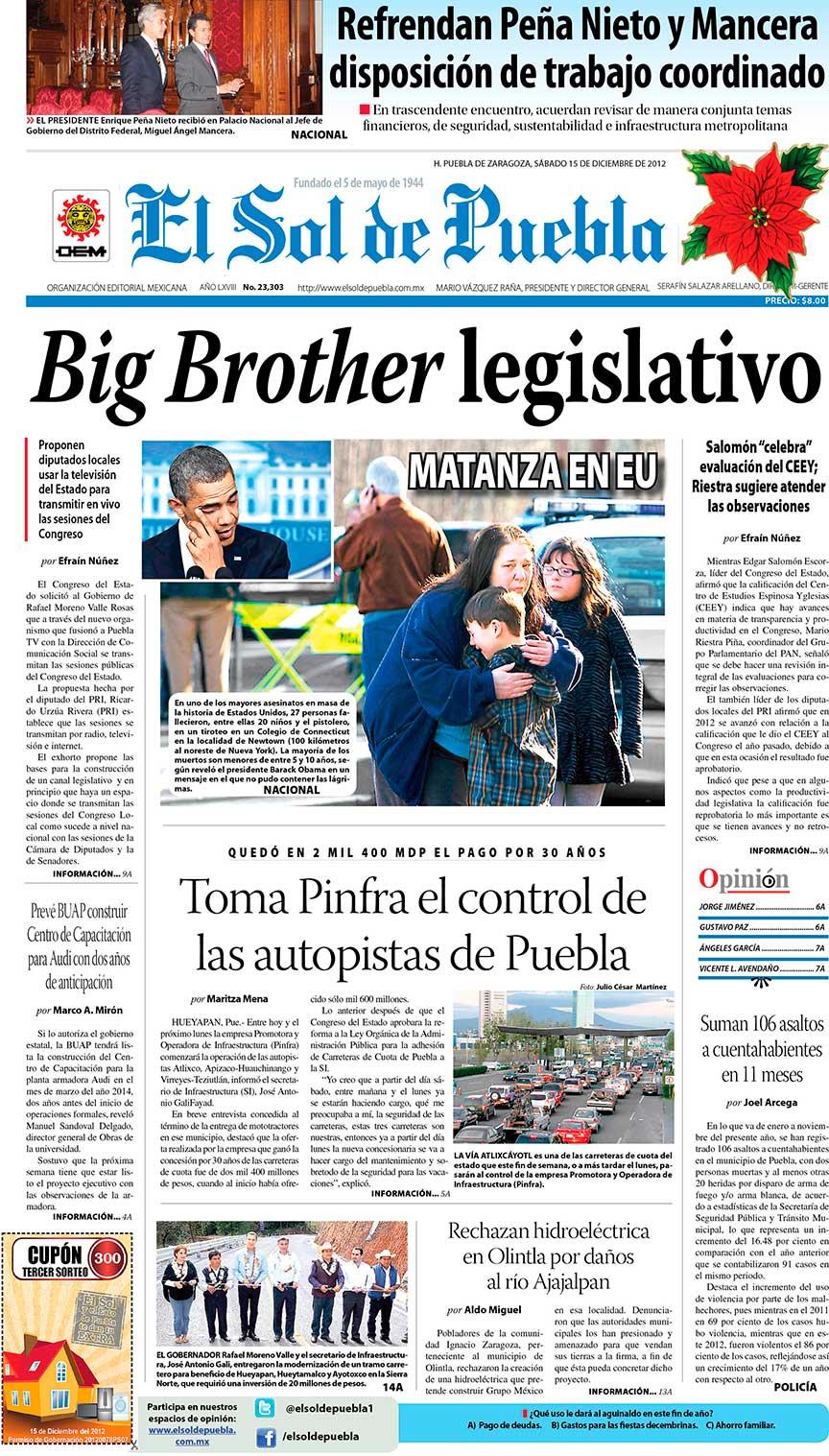 Sicla 09 diciembre 2012 for Exposicion 4 milenio horario