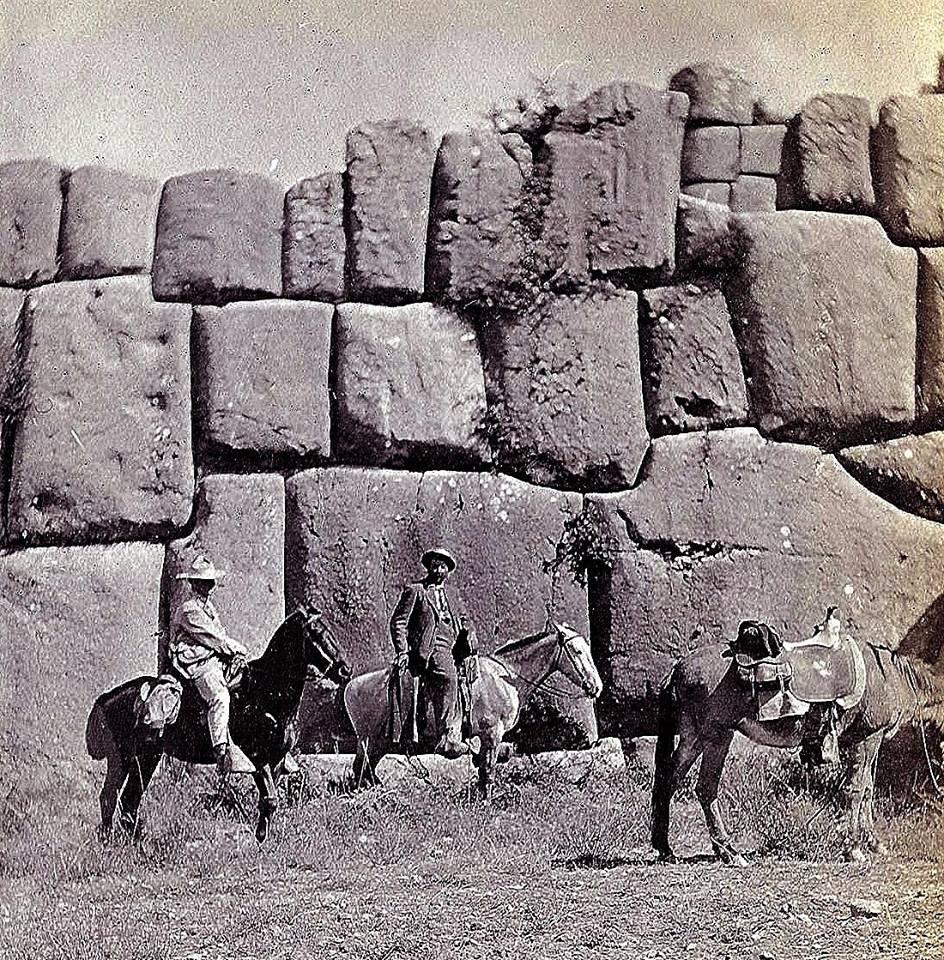 Foto antigua de Sacsayhuaman