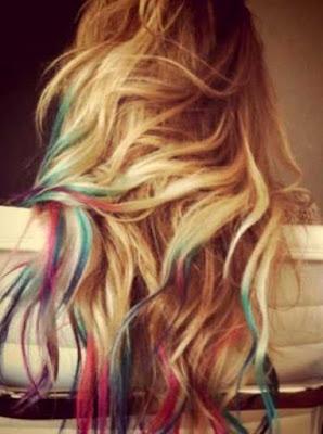warna pelangi untuk rambut bergelombang_6800254