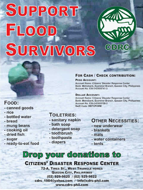 CITIZENS' DISASTER RESPONSE CENTER (CDRC)