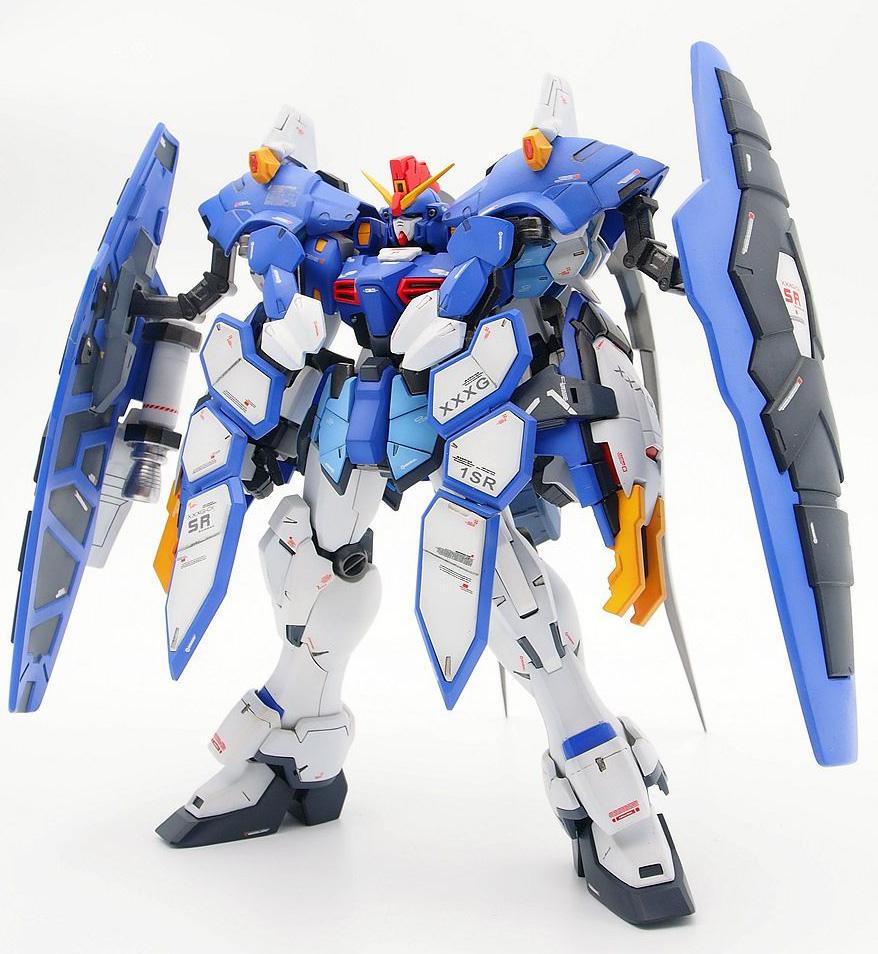 GUNDAM GUY: MG 1/100 Gundam Sandrock Armadillo