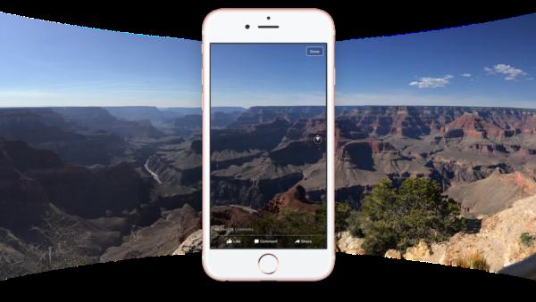 تمكين خاصية  تحميل صور 360 درجة في فيسبوك
