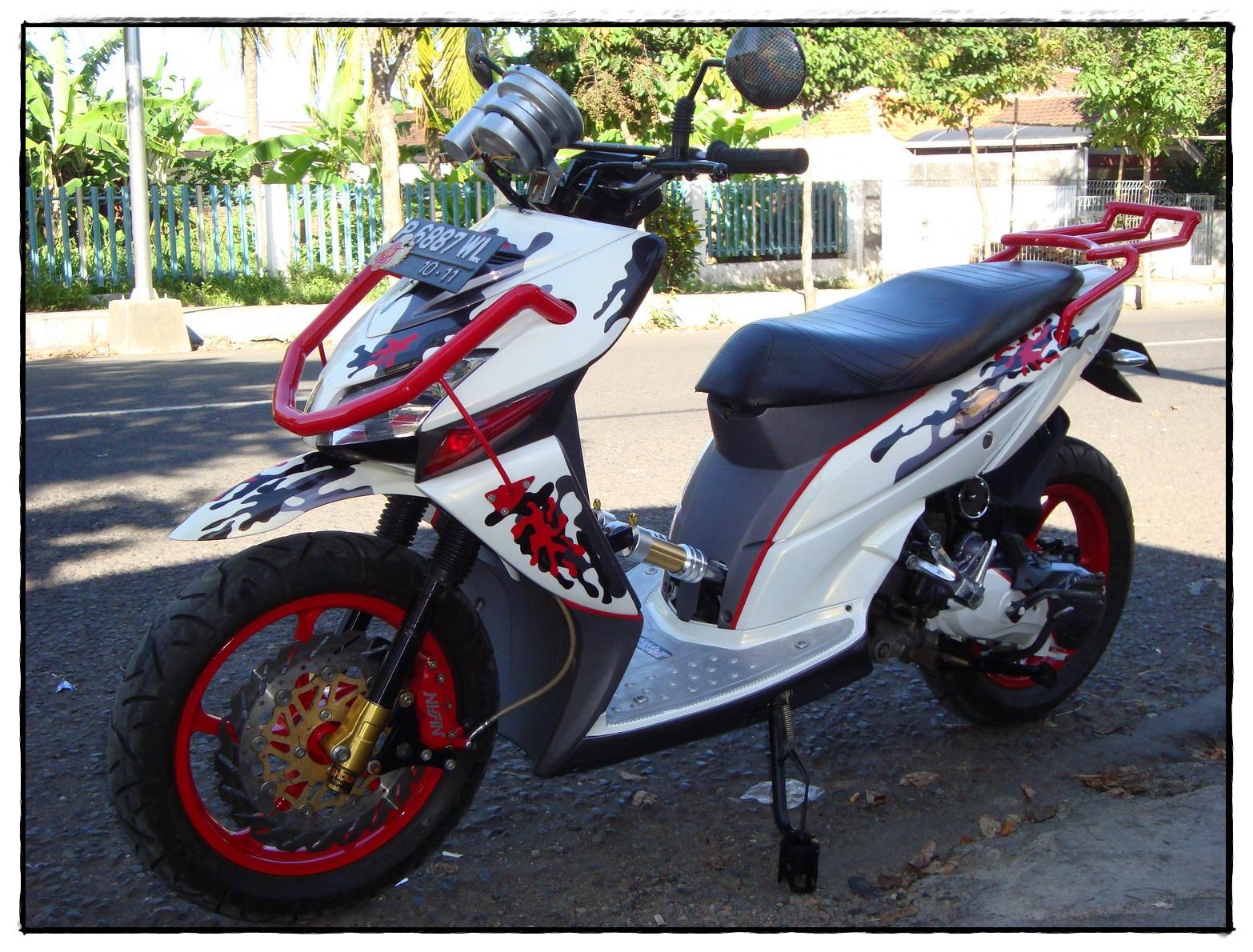 Modifikasi Motor Lucu Modifikasi Sepeda Motor