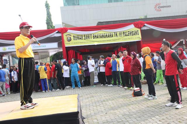 Olahraga dan Bakti Sosial Awali Rangkaian HUT RI ke-71
