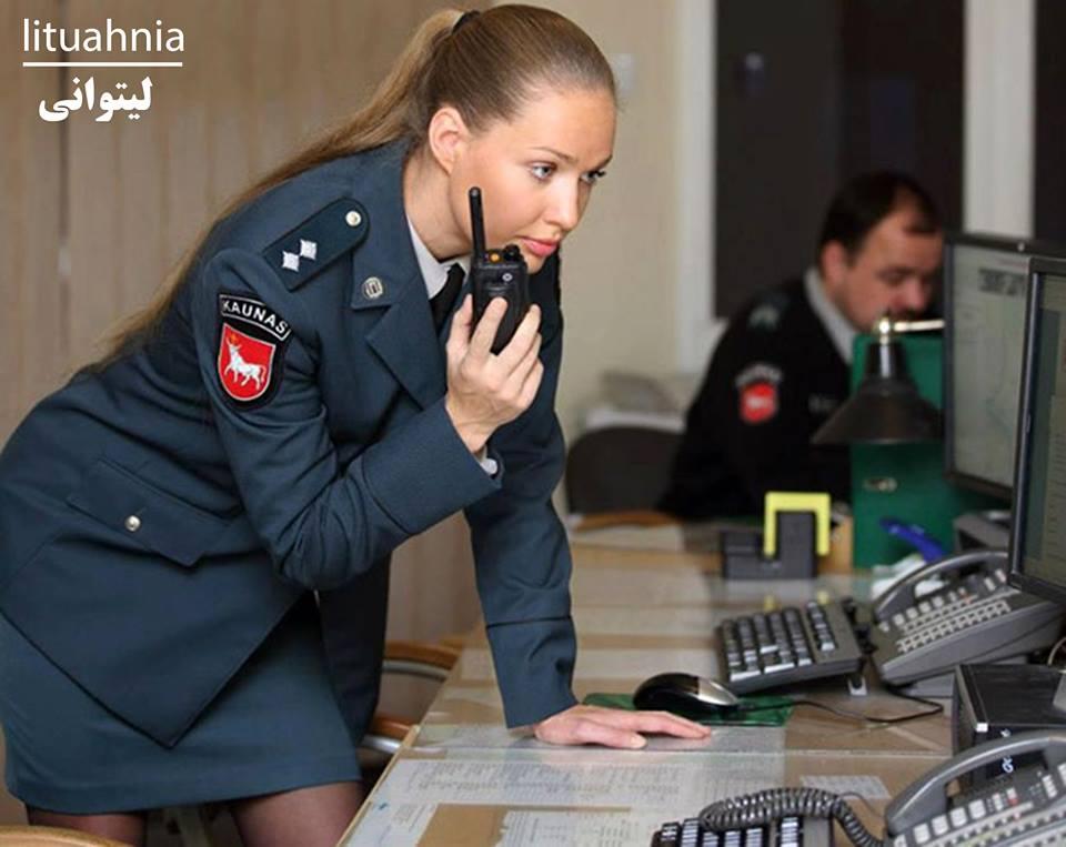 مقایسه تصویری پلیس های زن در کشورهای مختلف