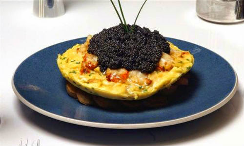 Zillion Dollar Lobster Frittata – AS$1,000