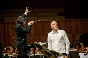 George Enescus's Oedipe - London Philharmonic Orchestra, Vladimir Jurowski, Paul Gay at the Royal Festival Hall (Photo Allen Max)